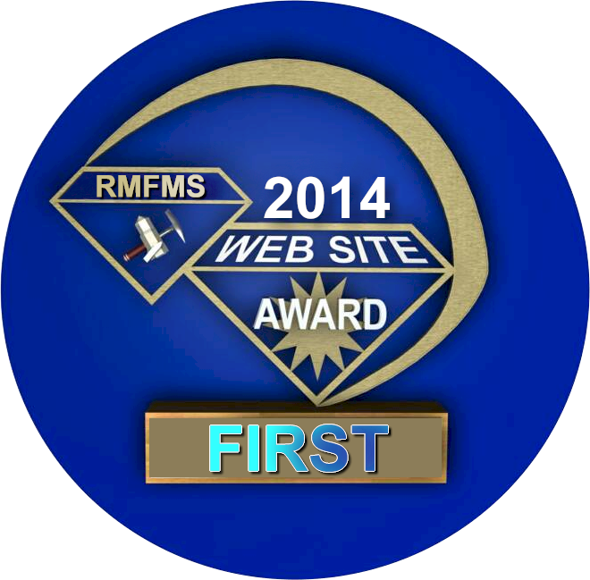 Rocky Mountain Federation of Mineral Societies 2014 Web Award